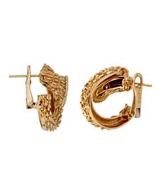 Boucheron Serpent Boheme Diamond Hoop Earrings - Boucheron Jewelry