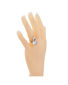 Bulgari Cicladi Diamond White Gold Ring - Bulgari Jewelry