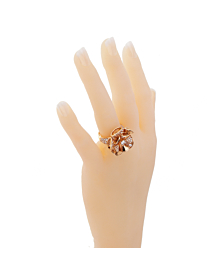 Bulgari Diva Dreams Diamond Rose Gold Ring - Bulgari Jewelry