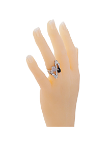 Bulgari Elisia Diamond Onyx Gold Ring - Bulgari Jewelry