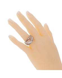 Cartier Paris Diamond White Gold Cocktail Ring - Cartier Jewelry
