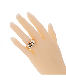 Cartier Trinity Tri Color Vintage Gold Ring - Cartier Jewelry