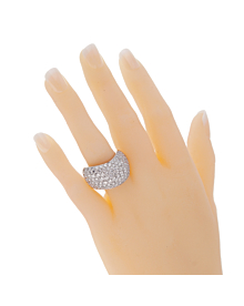 Cartier Pave Diamond Cocktail Ring - Cartier Jewelry