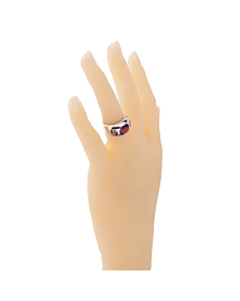 Chanel Gemstone White Gold Ring - Chanel Jewelry