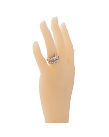 Chanel Comete Diamond Cocktail Platinum Ring - Chanel Jewelry