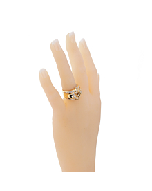 Dior Vintage Diamond Gold Cocktail Ring - Dior Jewelry