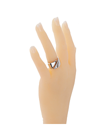 Hermes Bypass Diamond White Gold Ring - Hermes Jewelry