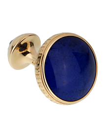 Montblanc Meisterstuck Yellow Gold and Lapis Cufflinks - Estate Jewelry