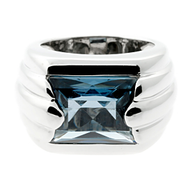 Audemars Piguet Topaz White Gold Ring