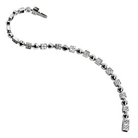 Bulgari Lucea Diamond Tennis White Gold Bracelet