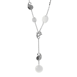Carrera y Carrera Diamond Aqua White Gold Necklace