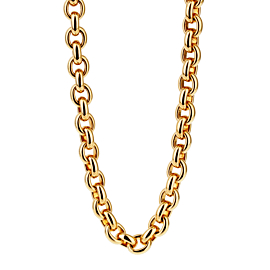 Cartier Gold Chain Link Necklace