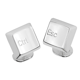 Cartier Keyboard Control Escape Cufflinks