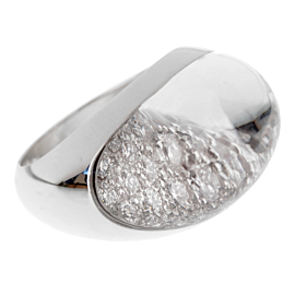 Cartier Myst Diamond Rock Crystal White Gold Ring