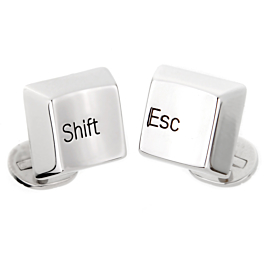 Cartier Shift Escape White Gold Cufflinks