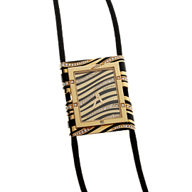 Cartier Tank Enamel Diamond Sautoir Necklace