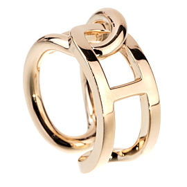 Hermes Chaine d'Ancre Yellow Gold Ring