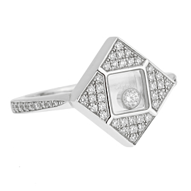 Chopard Happy Diamonds White Gold Ring 826869-1001