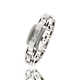 Chopard La Strada Diamond Watch in 18k White Gold 41/6547