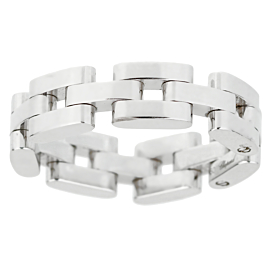 Chopard Les Chaines 3 Row White Gold Ring