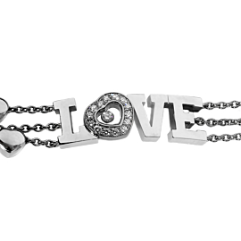 Chopard Love Happy Diamond White Gold Bracelet