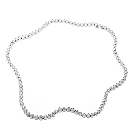 Fred of Paris Diamond Tennis Necklace in 18k White Gold