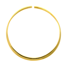 Hermes Choker Yellow Gold Necklace