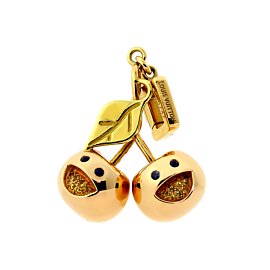 Louis Vuitton Cherry Gold Limited Edition Charm