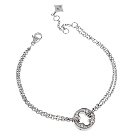 Louis Vuitton Empreinte Diamond White Gold Bracelet