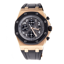 Audemars Piguet Rubberclad Rose Gold Watch
