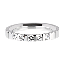 Salvini White Gold Diamond Band Ring