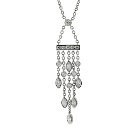 Tiffany & Co. Diamond Platinum Necklace