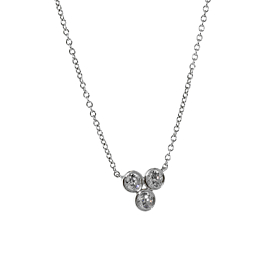 Tiffany & Co Diamond Necklace in Platinum