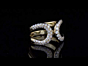 Hermes Diamond Gold H Ring For Sale Opulent Jewelers