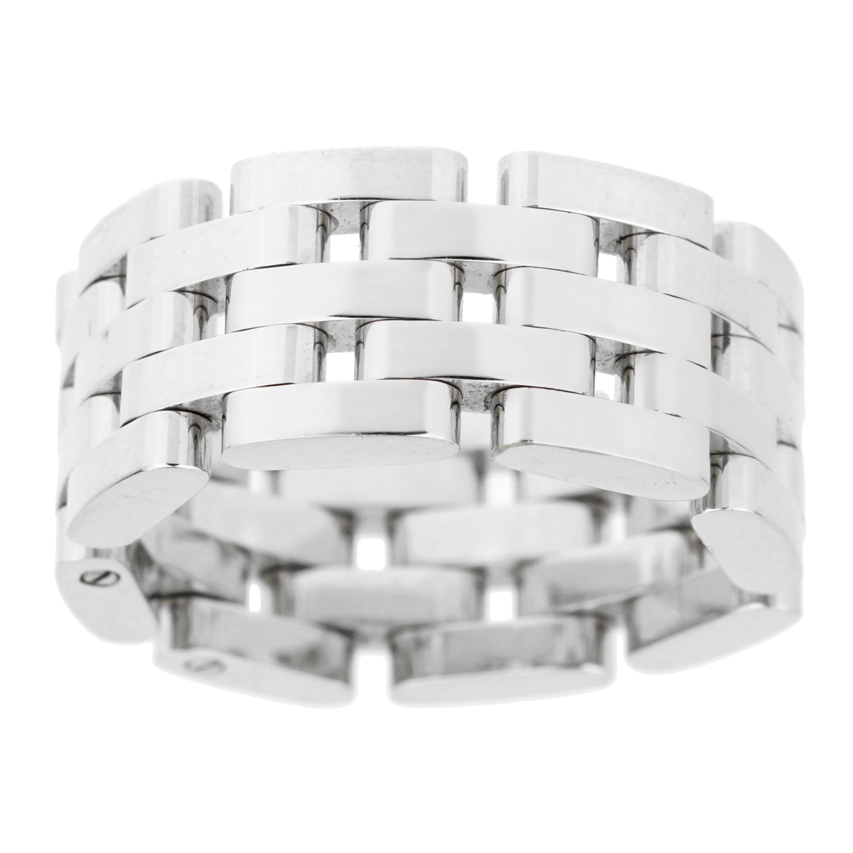 Chopard Les Chaines White Gold Link Ring - Chopard Jewelry