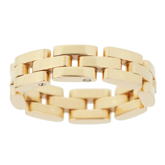 Chopard Les Chaines 3 Row Rose Gold Ring