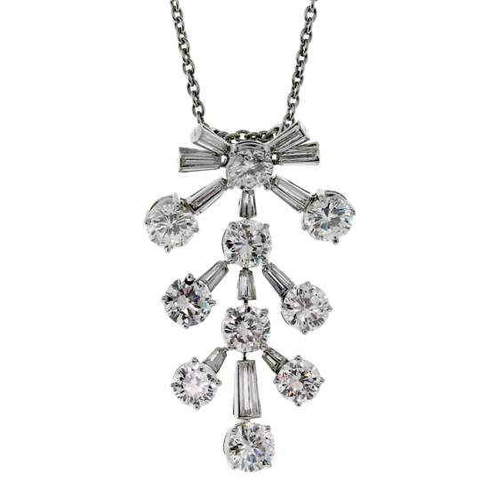 Van Cleef Arpels Diamond Necklace
