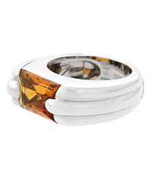 Audemars Piguet Citrine White Gold Ring - Audemars Piguet Jewelry