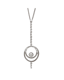 Audemars Piguet Millenary Diamond Drop Necklace