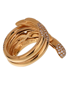 Audemars Piguet Rose Gold Diamond Cocktail Ring