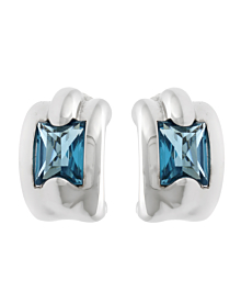 Audemars Piguet Topaz 18k White Gold Earrings - Audemars Piguet Jewelry