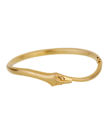 Boucheron Snake Vintage Yellow Gold Bangle Bracelet - Boucheron Jewelry