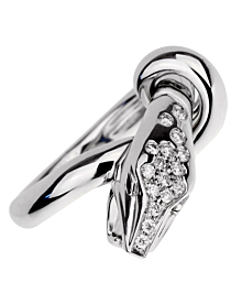 Boucheron Kaa Diamond Snake White Gold Ring - Boucheron Jewelry
