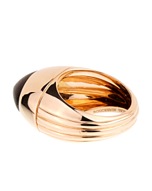 Boucheron Limited Edition Rose Gold Wood Ring