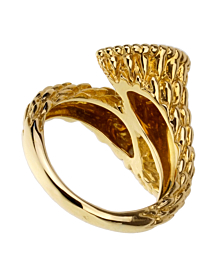 Boucheron Serpent Boheme Toi et Moi Diamond Gold Ring