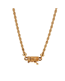 Boucheron Vintage Diamond Gold Necklace - Boucheron Jewelry