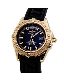 Breitling Headwind 18k Yellow Gold Mens Watch - Breitling Jewelry