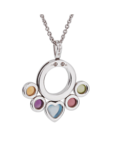Bulgari Allegra White Gold Gemstone Necklace - Bulgari Jewelry