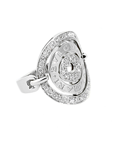 Bulgari Astrale Diamond White Gold Ring - Bulgari Jewelry