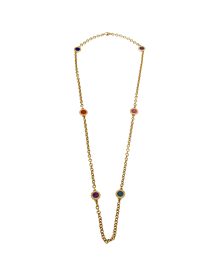 Bulgari Bulgari Vintage Yellow Gold Sautoir Necklace